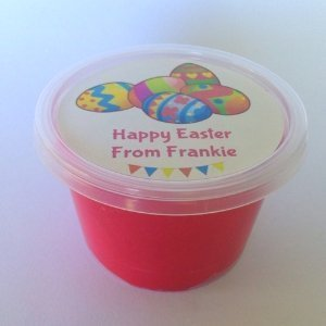 Easter Play Dough Tub for class gifts