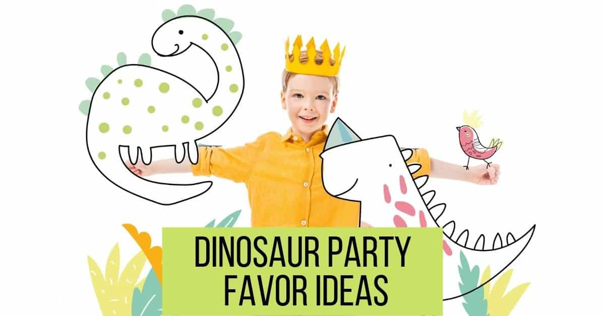 DIY Dinosaur Party Favor Ideas