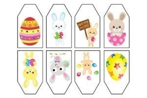Easter Gift Tags - Easter Bunny Free Printables