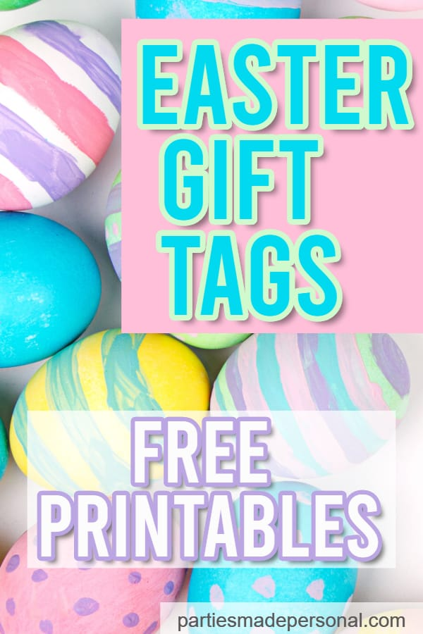 Easter Gift Tags Free printable