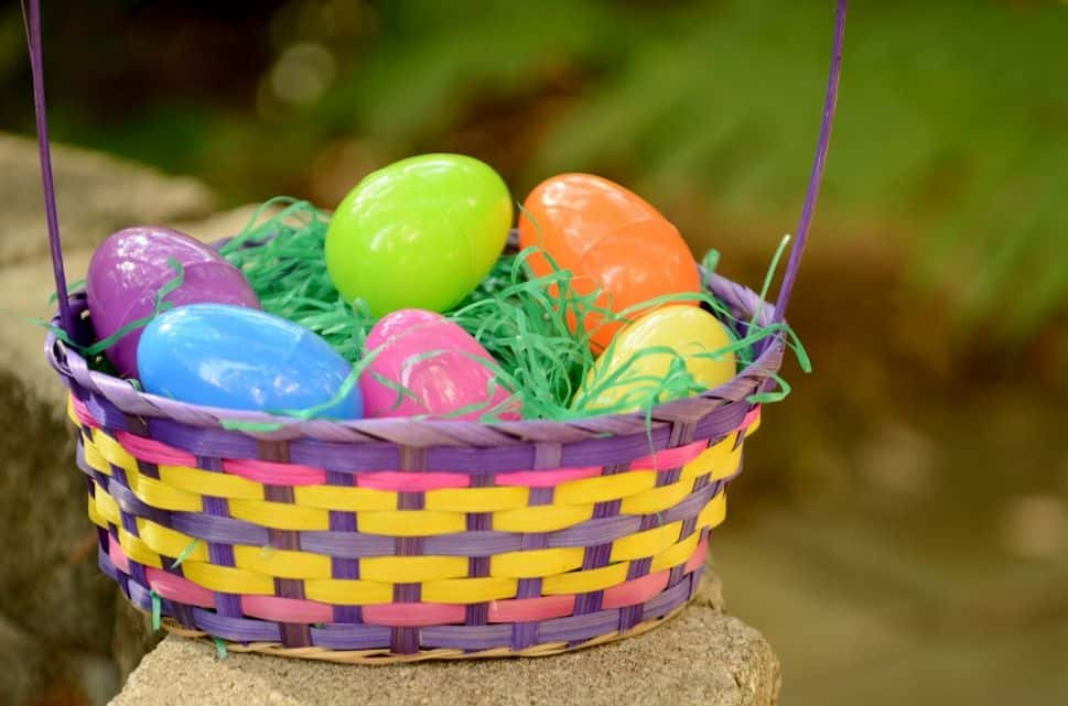 non chocolate Easter gifts for kids - plastic Easter eggs