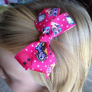 Shopkins Party Favors - Shopkins hair bows