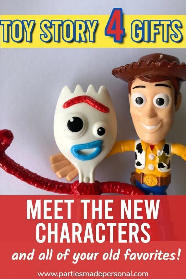 Toy Story 4 Gifts - Woody and Forky