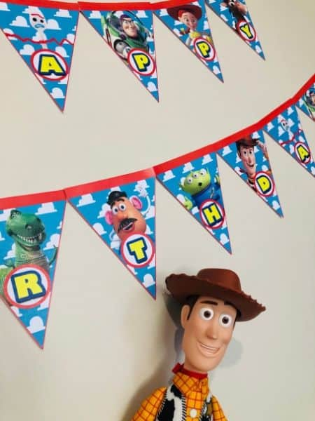 Toy Story Banner Printable