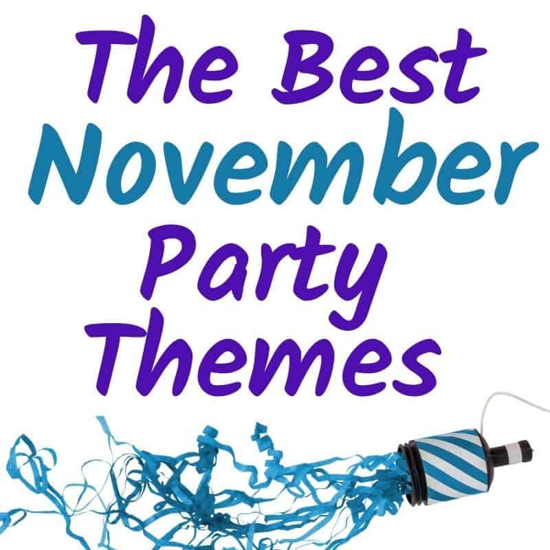 November birthday party ideas