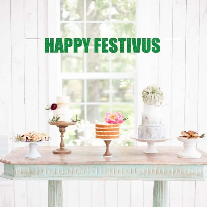 Happy Festivus Banner Party Decorations