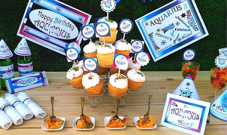Aquarius Party Decorations