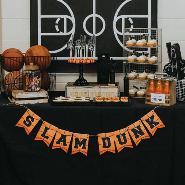 Basketball Party Decorations for Basketball Birthday