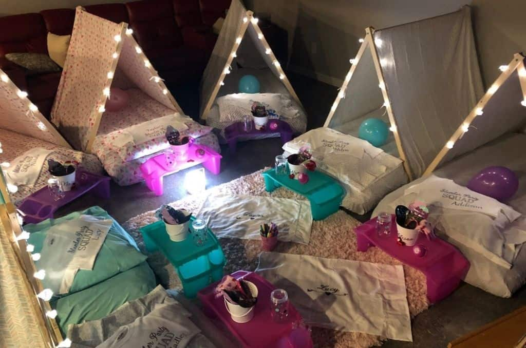 Glamping Tents for Slumber Parties