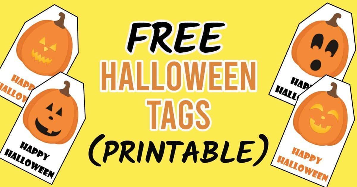 Free Halloween Tags Printable 8 Designs Parties Made Personal