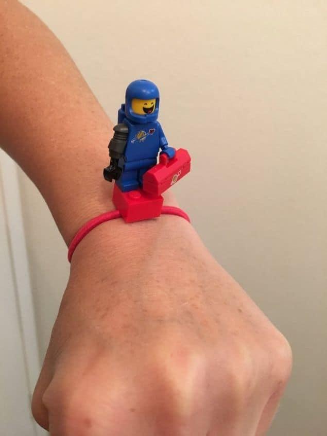Lego Minifigure wrist band