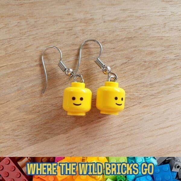 Lego Minifigure Earrings Lego party favors