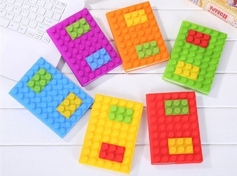 Lego Notebooks for party favors