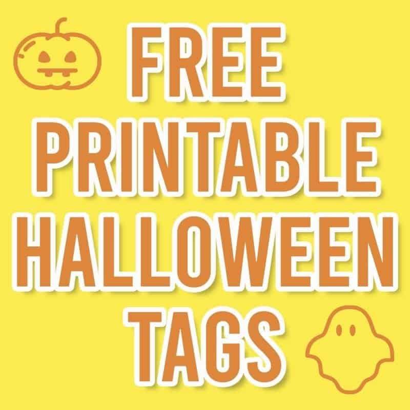 printable halloween tags