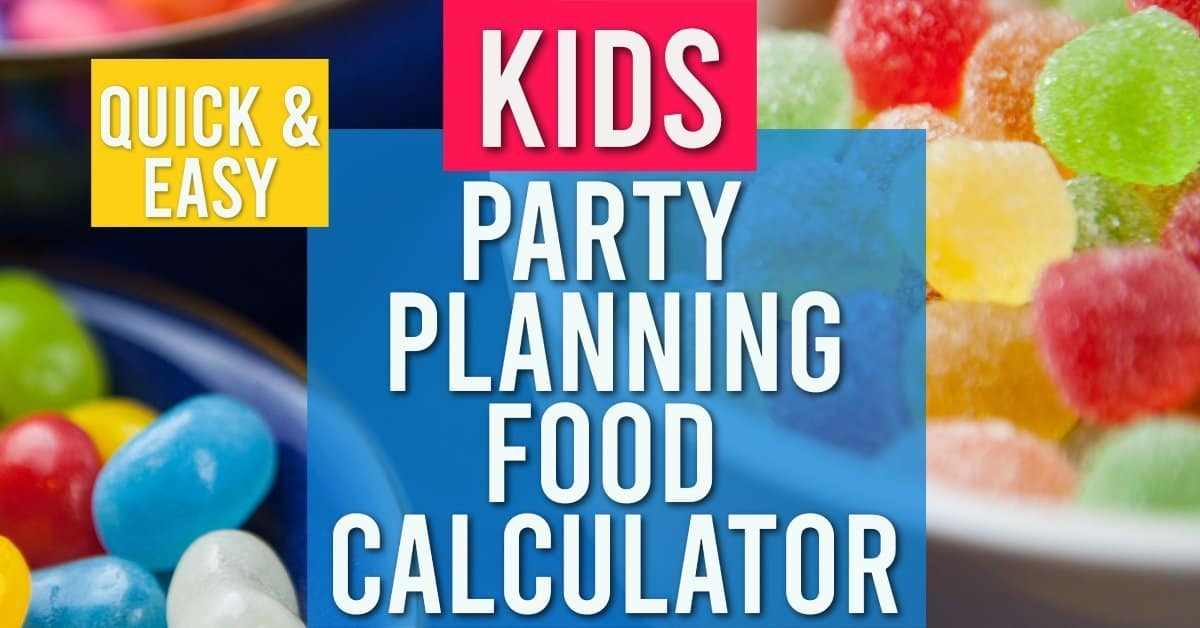 Party Planning Food Calculator