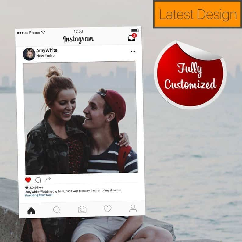 Instagram Photo Booth Printable Frame