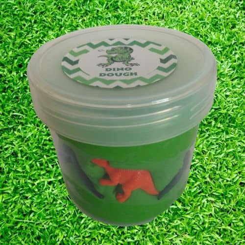 Dinosaur Play dough gift ideas