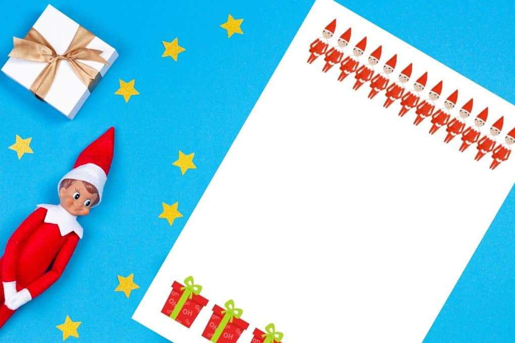 Free Elf On The Shelf Letter Letterhead Parties Made Personal