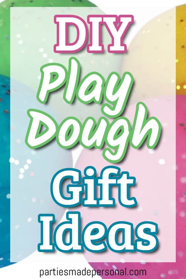 homemade playdough gift ideas