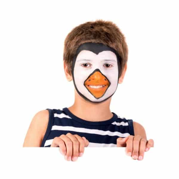 penguin party face painting