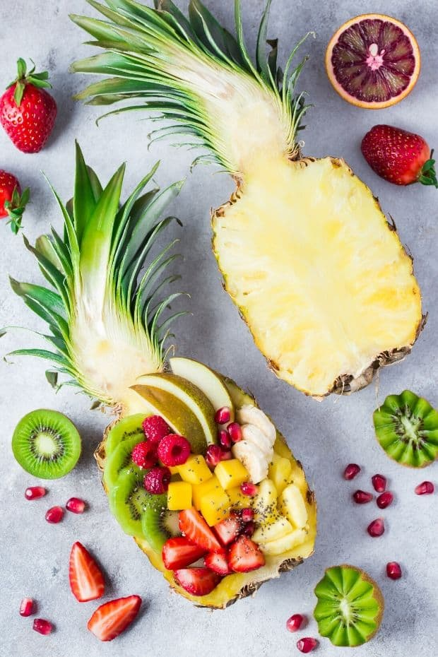 Pineapple party food idea