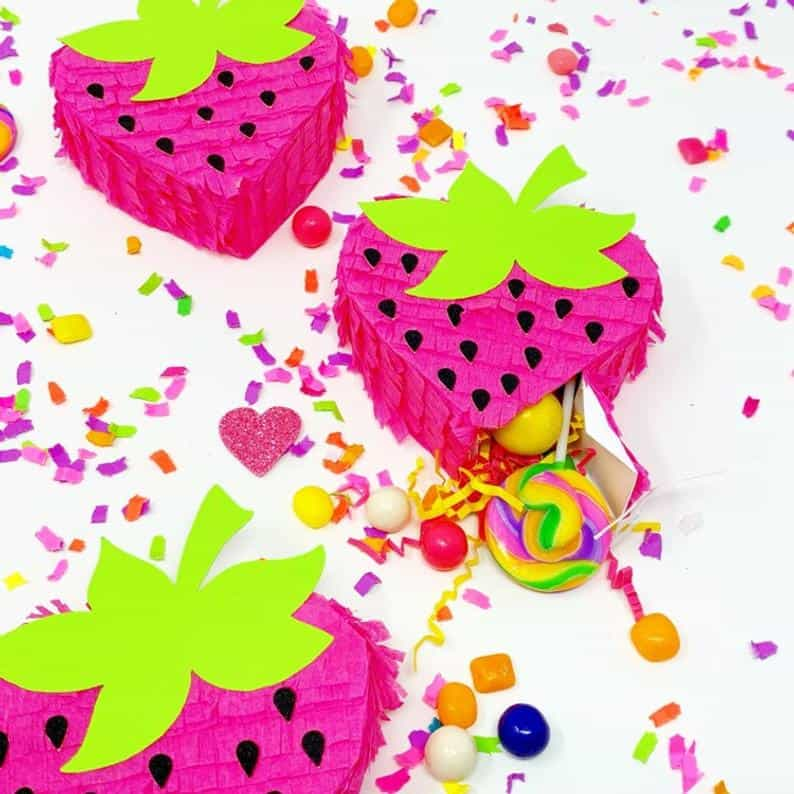 Strawberry pinata