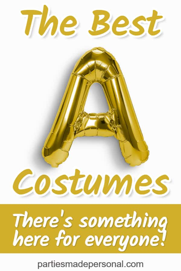 Costumes That Start With A