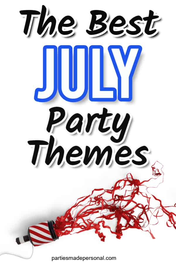 July themed parties