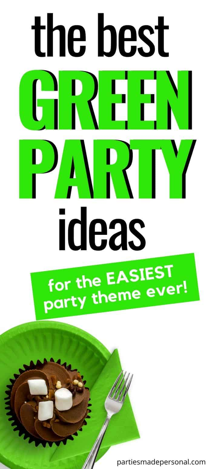Green theme party