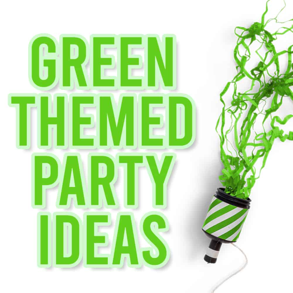 Green Themed Party