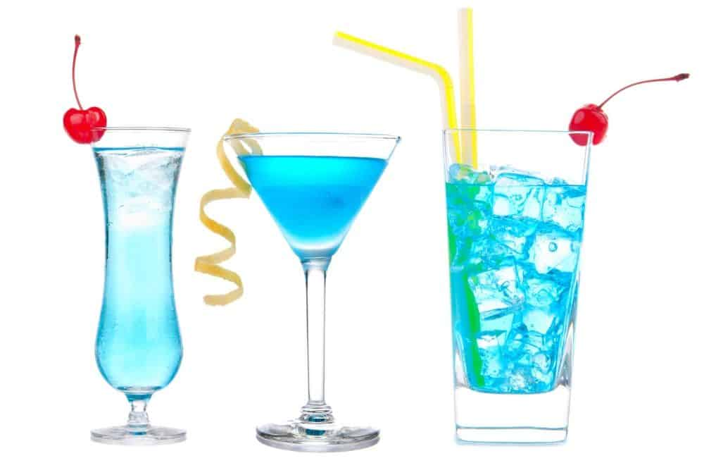 Blue Party Drinks