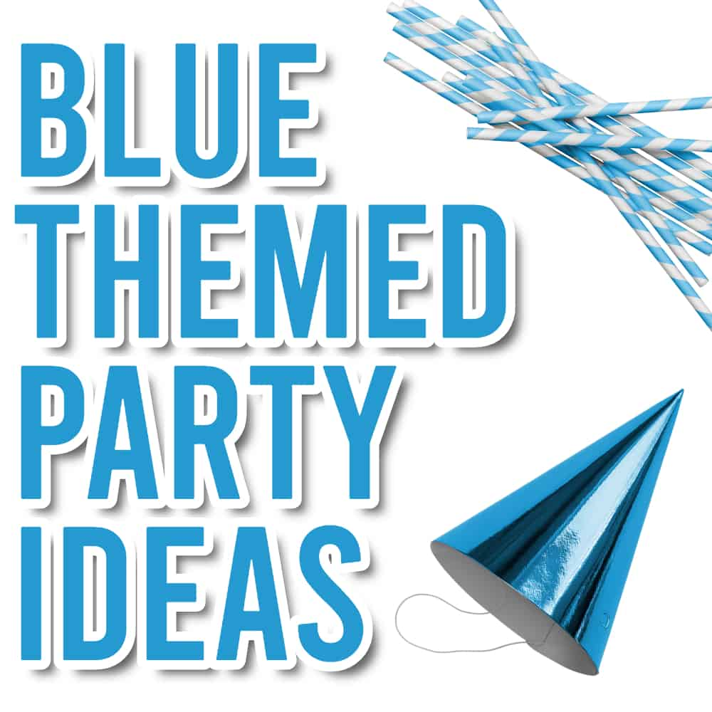 Blue party themes
