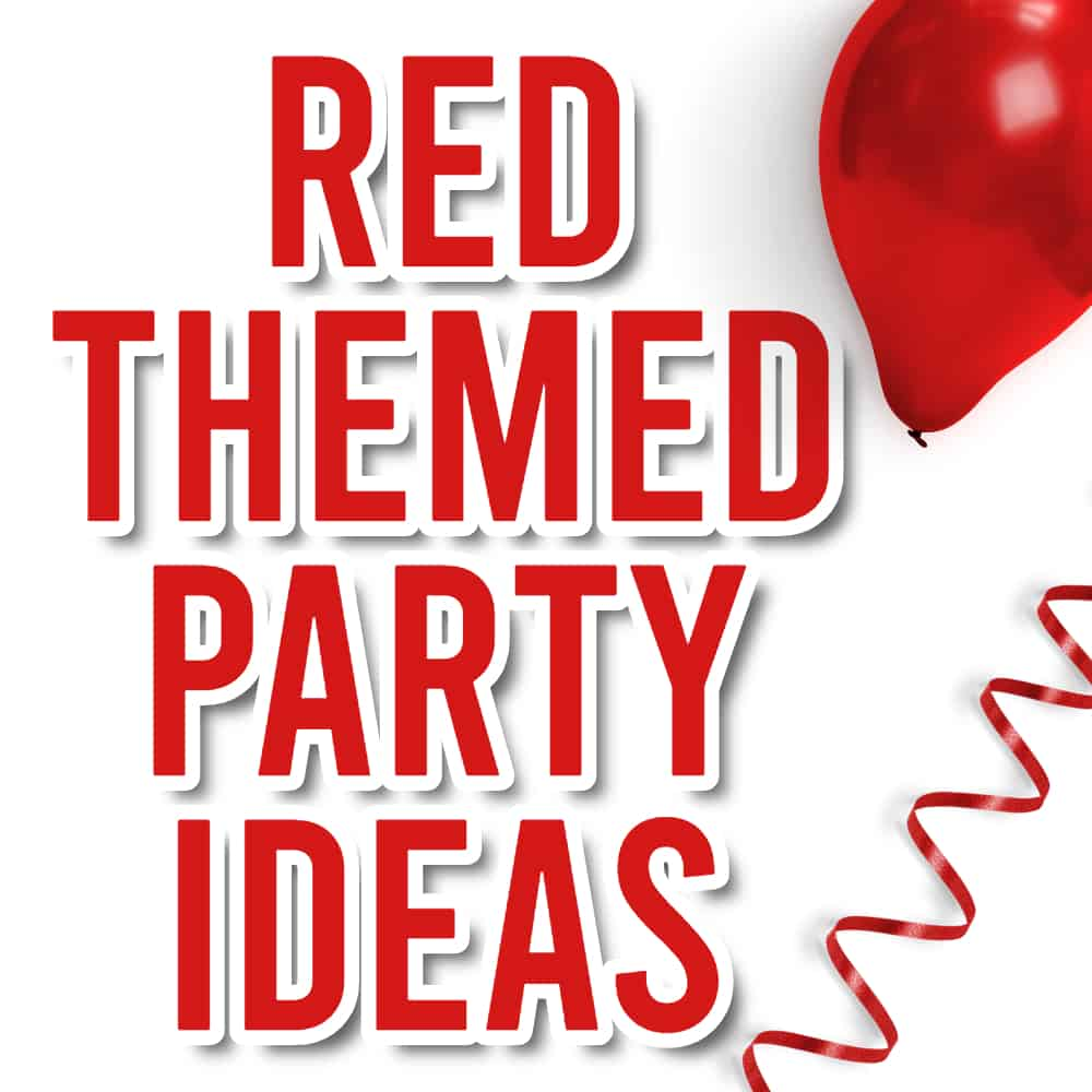 Red Party Theme