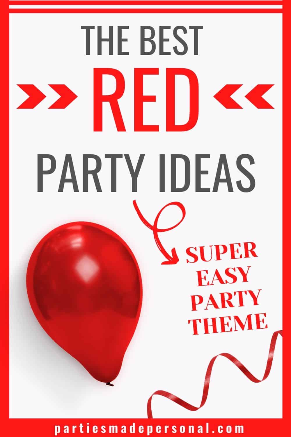 Red party themes