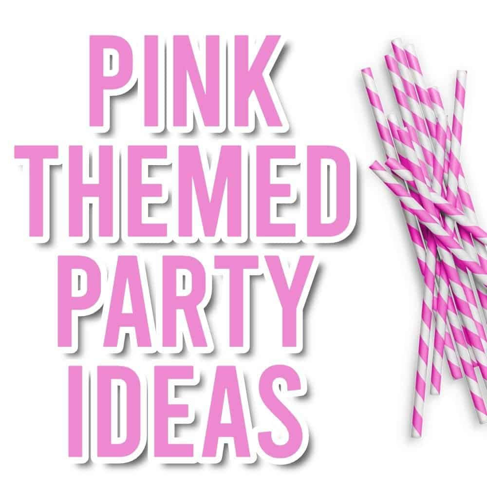pink party theme