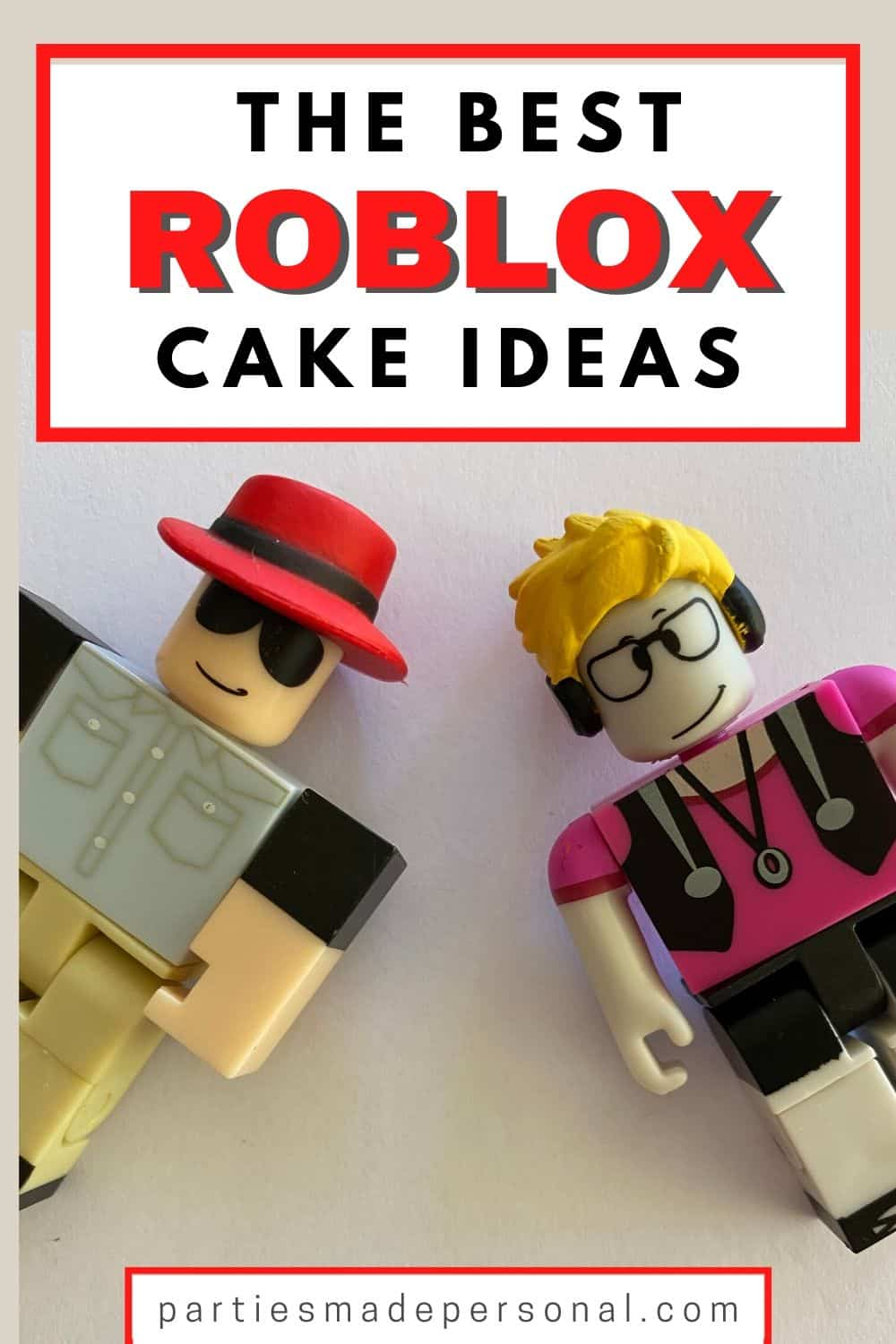 Roblox Cake Design