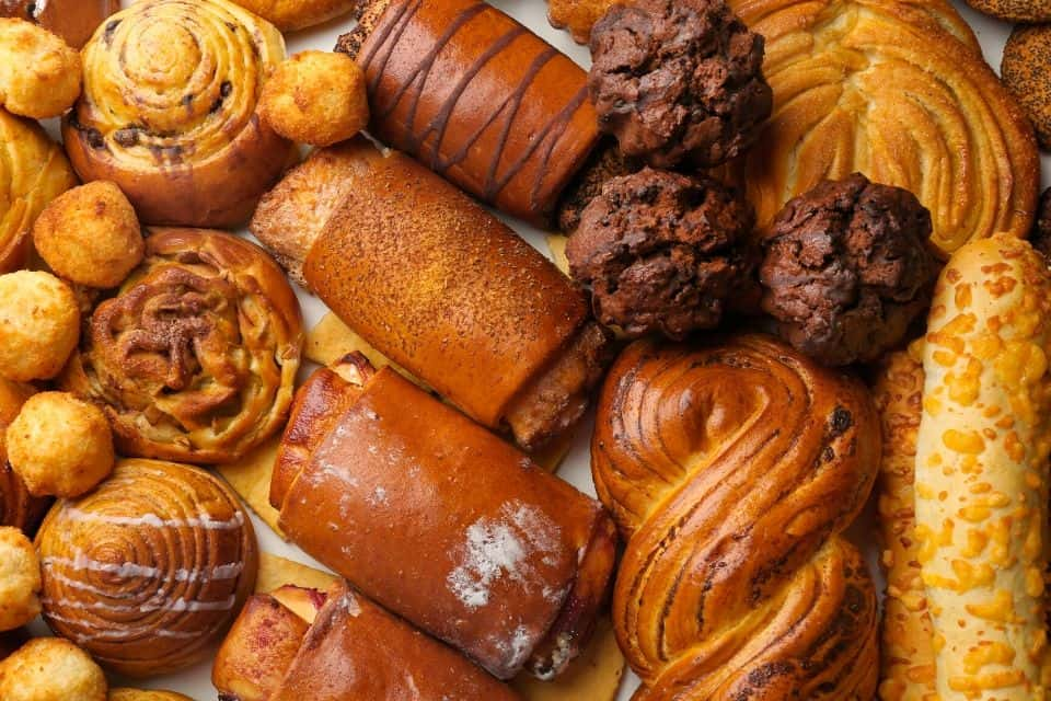 party food sweet pastries