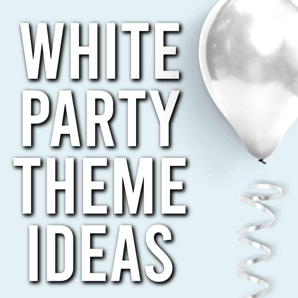white party themes