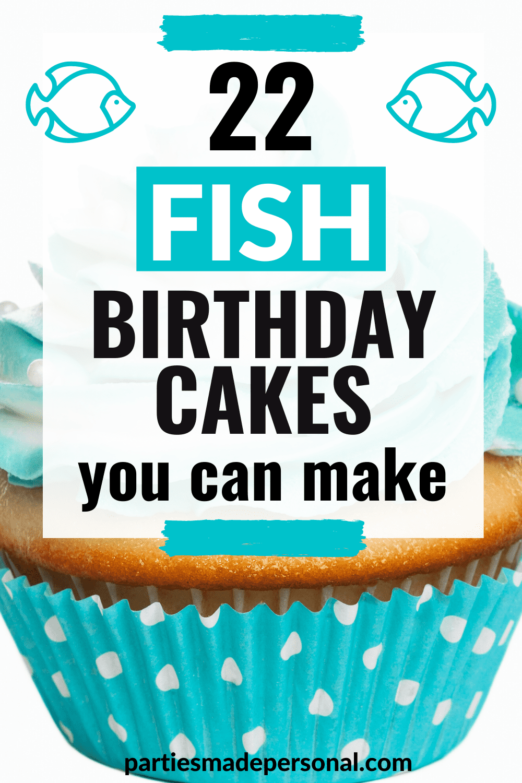 fish birthday cakes
