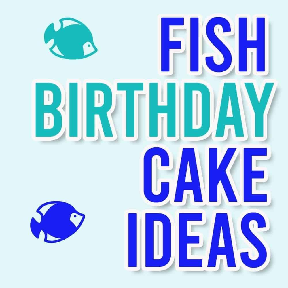 Fish birthday cake | Fish cake design