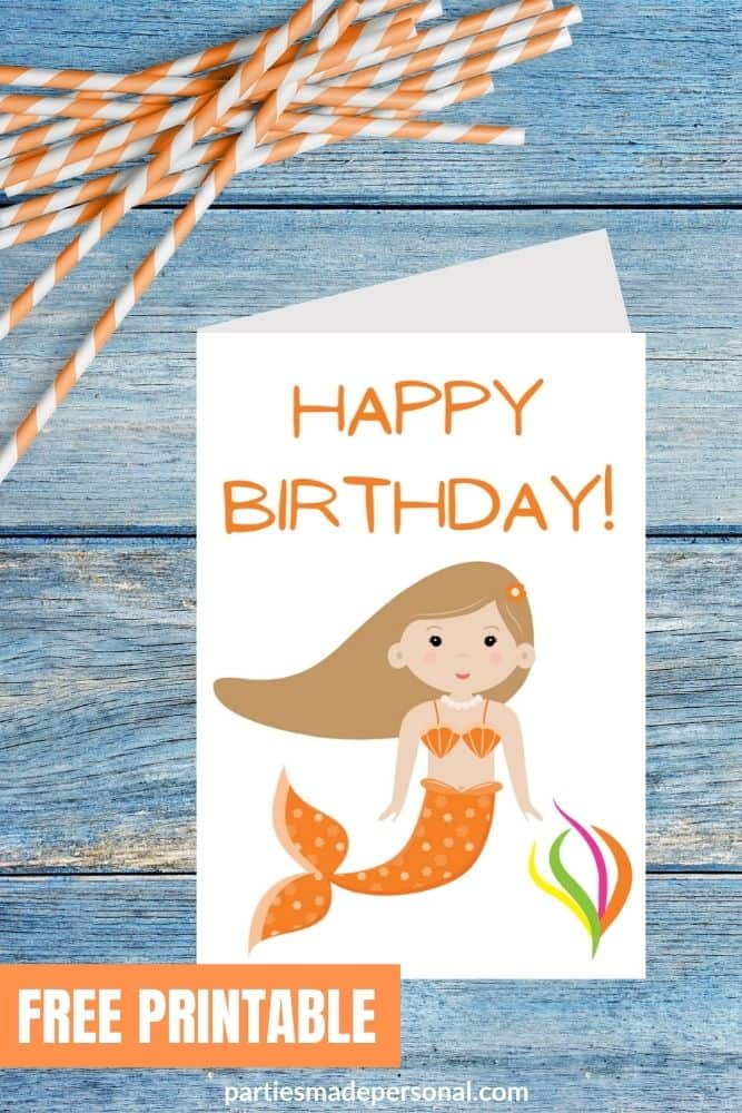 mermaid cards