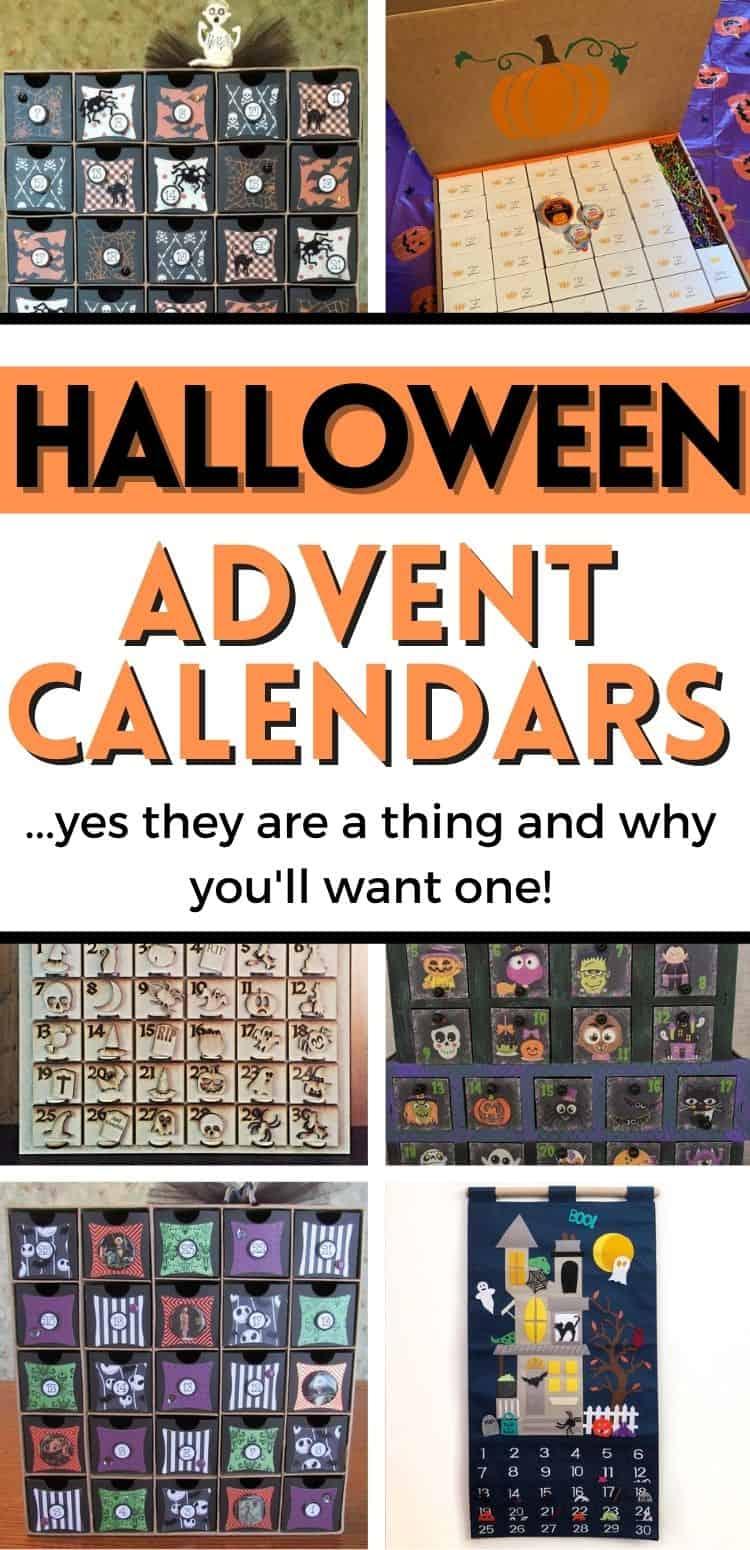 Advent Calendar for Halloween