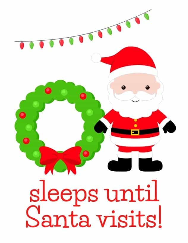how many sleeps until Christmas