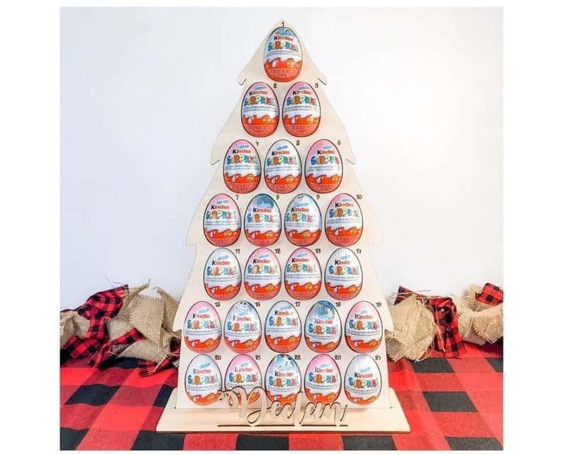 Kinder Egg Advent Calendar   Kinder Surprise Advent Calendar