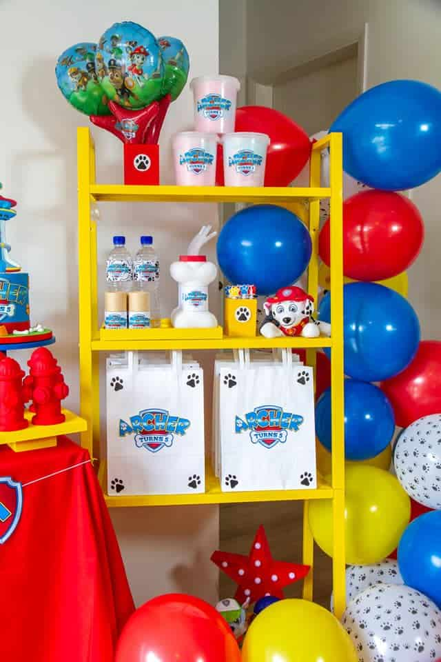 Paw Patrol Birthday Decorations