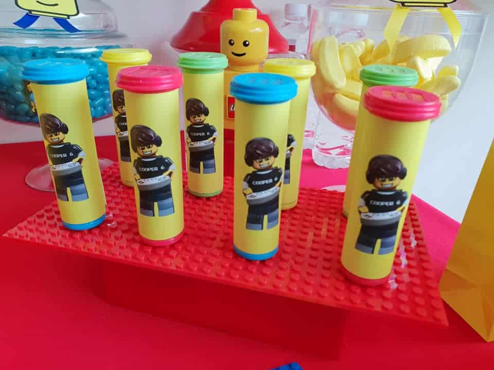 Lego party favours