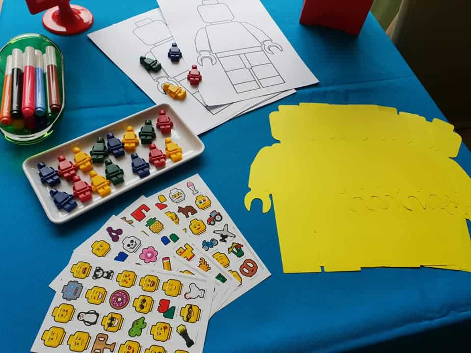 Lego party activities
