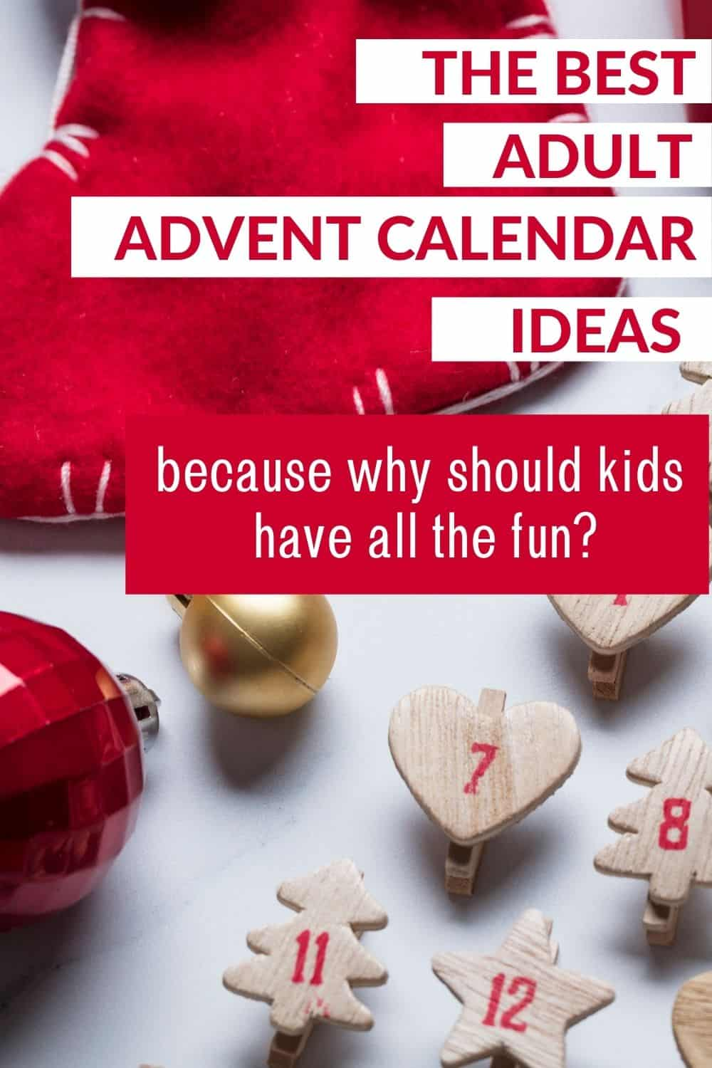 advent calendar for adults