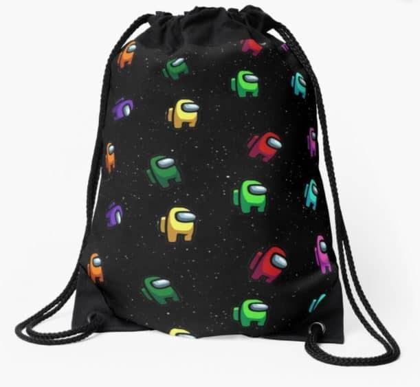 among us drawstring bag