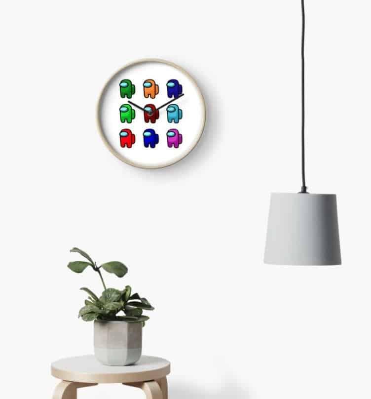 Among Us Clock